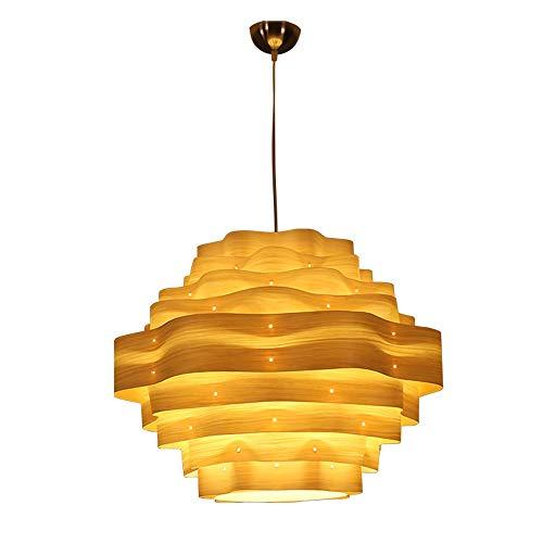 Rattan Bark - Southeast Asian bark Chandelier, Ceiling lamp, Solid Wood Chandelier DIY Wicker Rattan lamp LED lamp Bedroom, Living Room, Office, Restaurant, bar YZPDD