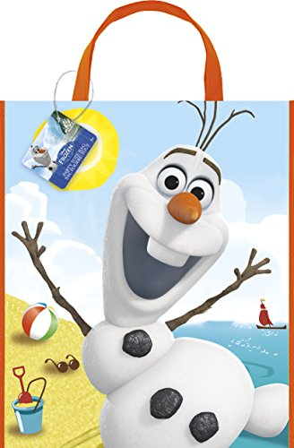 [Large Plastic Disney Frozen Olaf Goodie Bag, 13