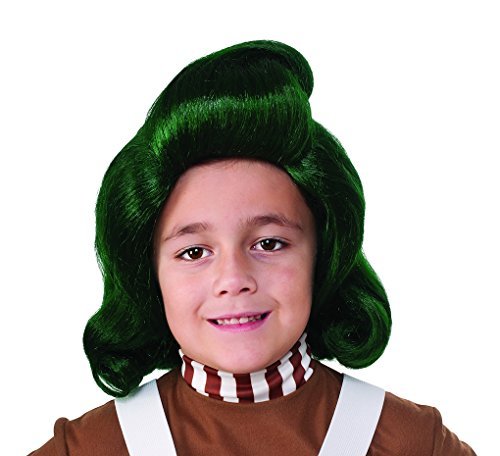 Faerynicethings Child Size Oompa Loompa Wig - Willy
