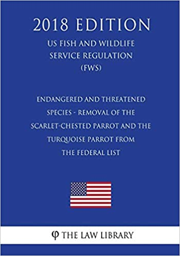 Endangered And Threatened Species Removal Of The Scarlet