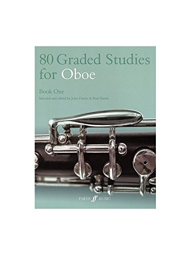 80 Graded Studies For Oboe Book 1. Partitions pour Hautbois