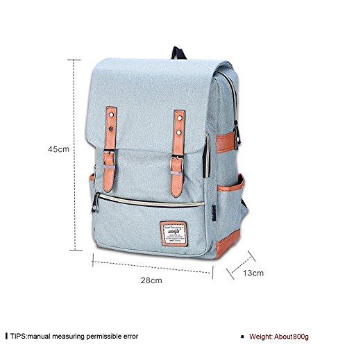 Par color sólido mochila/ Estilo universitario unisex (colores surtidos)-B E