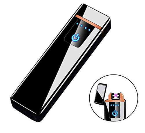 NAMCHE USB Lighter Rechargeable - Dual Arc - Electronic Lighter Windproof - Elegant Electrical Cigarettes Lighter with Gift Box