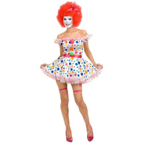 [Clownin Around Costume - X-Small - Dress Size 3-5] (Clownin Around Girls Costumes)