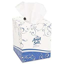 Georgia Pacific Professional 46560 Ultra Premium Facial Tissue, White, 7 3/5 x 8 1/2, 9Box of 6 (Case of 36 Boxes)