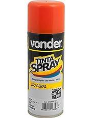 Tinta em spray laranja, com 200 ml, Vonder