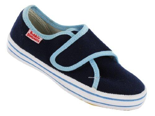 BECK Canvas Lino Zapatos Zapatillas Basic Azul 400
