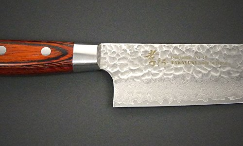 Sakai Takayuki Hammered Damascus 33 Layer Vg-10 Japanese 07393 Vegetable 160mm Nakiri Knife