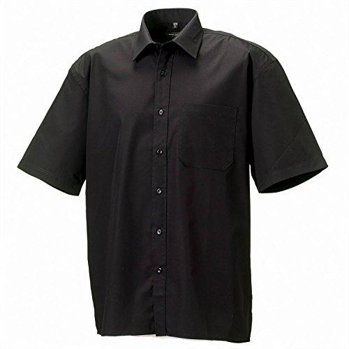 Russell Sammlung Short Sleeve aus reiner Baumwolle Easycare P - Aztec Blue - 4XL