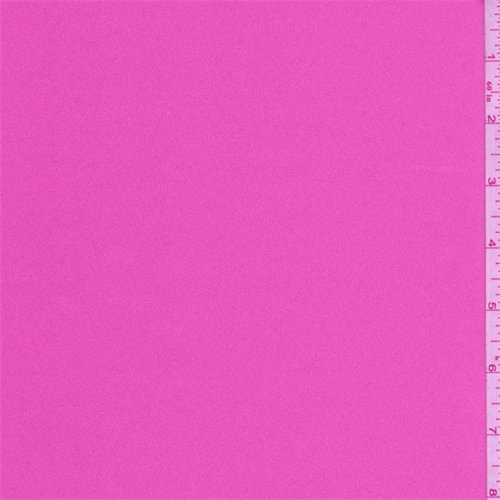 - Bubblegum Pink Polyester Satin, Fabric By the Yard