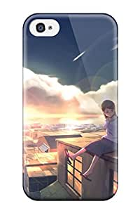 Hot 5117807K896819954 animal cat city scenic sky sunset wack Anime Pop Culture Hard Plastic iPhone 4/4s cases