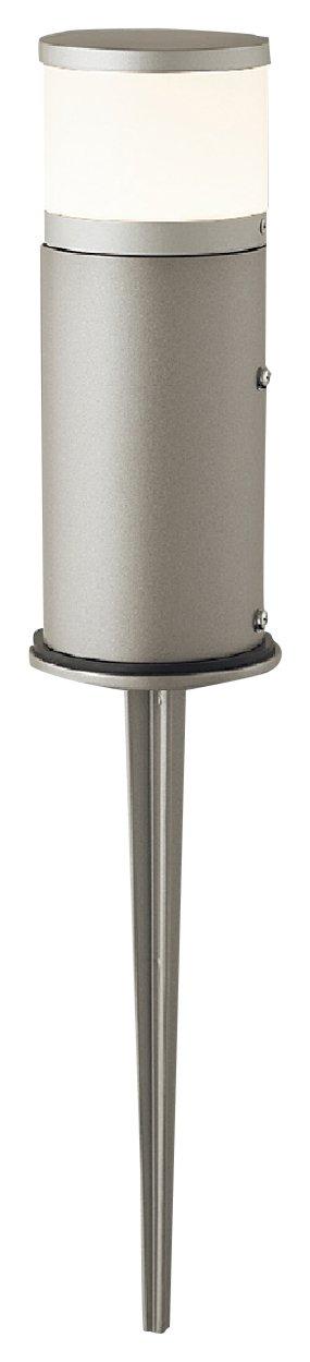 東芝ライテック LED一体形 スパイク式ガーデンライト 門柱灯 上面カバー付 ウォームシルバー B00ZZ48ZAS 16240