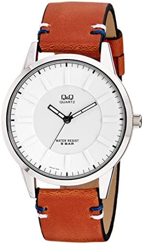 Fashion Forward Casual Leather Q Q Watch for The Cool Guy