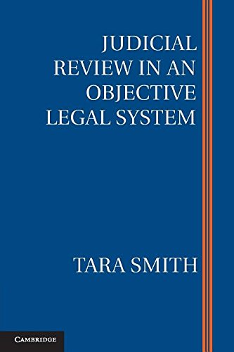 Judicial Review in an Objective Legal System cover