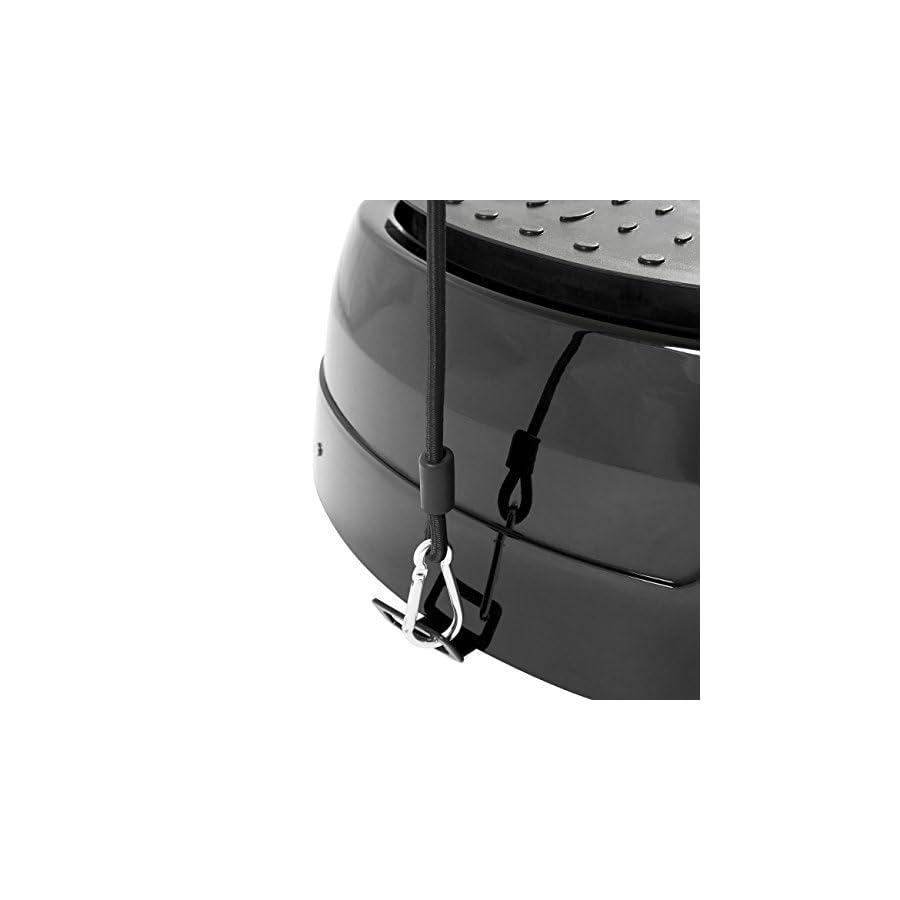 Best Choice Products 99 Level Pivotal Vibration Platform w/Resistance Bands, Remote Control, Compact Design Black