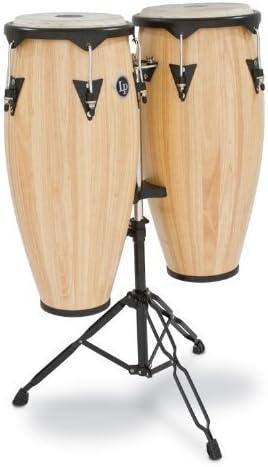 "Latin Percussion LP City Wood Congas 10"" & 11"" Set - Natural Satin Finish"