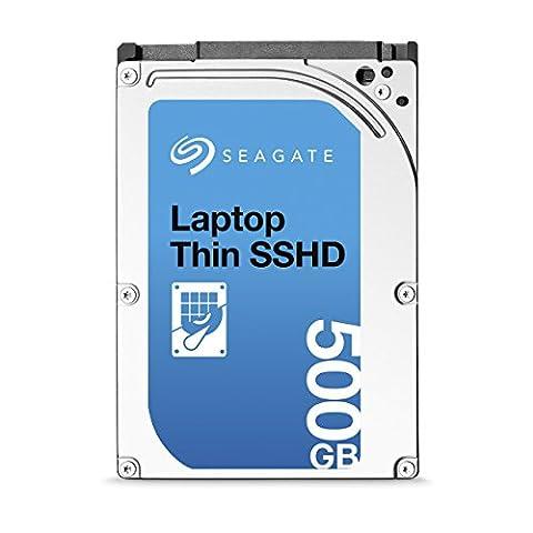 (Old Model) Seagate 500GB Gaming SSHD SATA 8GB NAND SATA 6Gb/s 2.5-Inch Internal Bare Drive (Seagate 500gb 7mm)