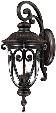 Acclaim 2122MM Naples Collection 3-Light Wall Mount Outdoor Light Fixture