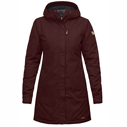 Kiruna Padded Women's Red Padded Parka Burnt Kiruna Parka Jacket Womens Fjällräven Down 328 W W O8Un5xZIgW