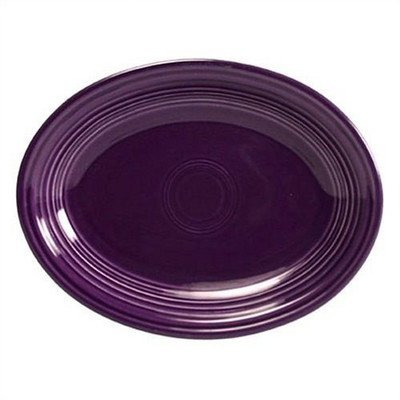 Oval Platter Color: Plum (Platter Serving Fiesta Oval)