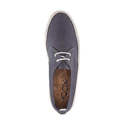 Cox Herren Trend-Espadrille grau-dunkel