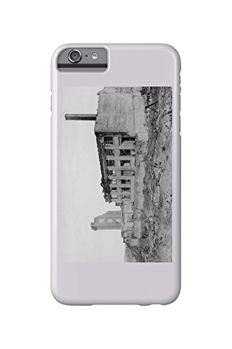 Astoria  Oregon Fire View Of Astoria Natl  Bank Photograph  Iphone 6 Plus Cell Phone Case  Slim Barely There