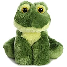 Aurora World Mini Flopsie Toy Frolick Frog Plush, 8""