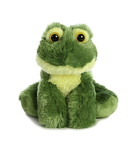 Aurora World Mini Flopsie Toy Frolick Frog Plush, 8