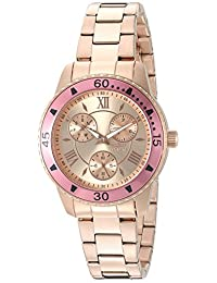 Invicta Women's 21774 Angel Quartz Stainless Steel Automatic Watch, Rose Gold