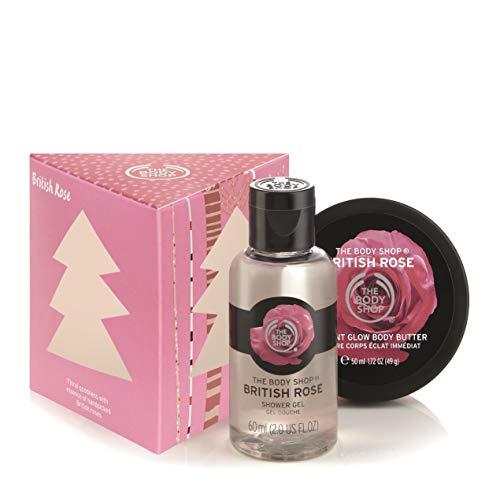 The Body Shop British Rose Treats Gift Set (Vegan) (Shop Christmas Body The)