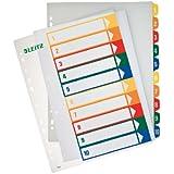 Leitz Intercalaires touches imprimées 1-10 (Import Allemagne)