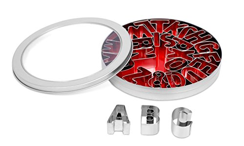 small alphabet cookie cutters - 7