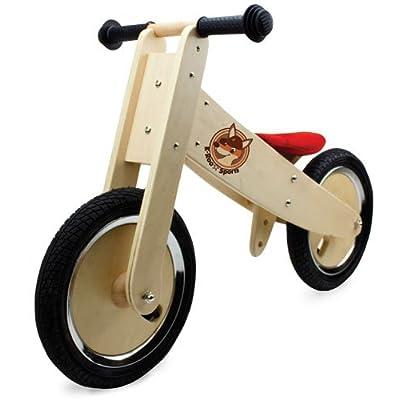 K-Roo Sports Wooden Balance Bike: Sports & Outdoors