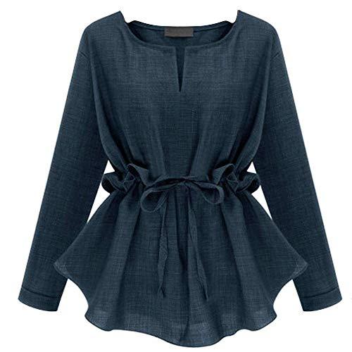 Manches surdimensionné Xx Mode capuche élégant Grand longues Noir Taille Pull mode Couleur longues Sweat Plus Bleu à et Taille à la shirts femme Pull Zhrui OBzXan0n