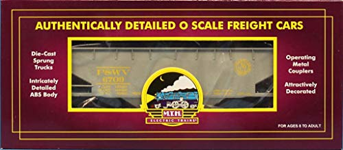 MTH 1:48 O Scale 2 Bay Offset Hopper Car w/ Coal Load Pitt. & WV #20-90024B