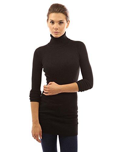 PattyBoutik Women's Turtleneck Long Sleeve Sweater