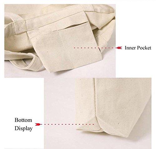 HDR en pequeños algodón bolso del la de 3 de lona totalizador gatitos UZawZn