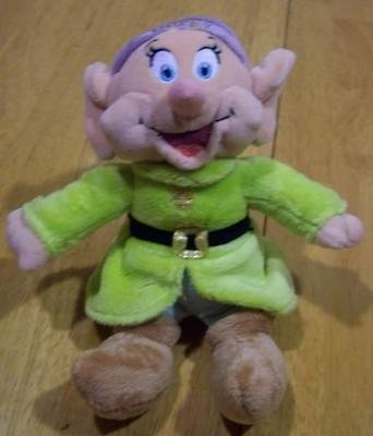 (Disney Snow White and the Seven Dwarfs Xs Dopey Plush Soft 10
