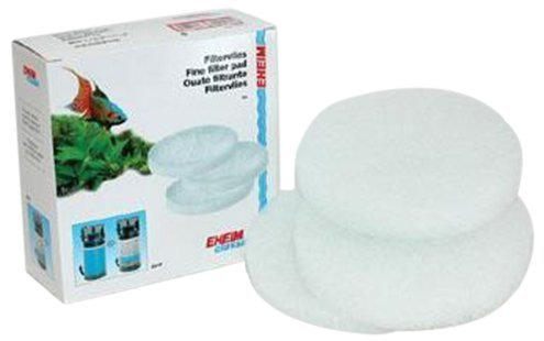 EHEIM Fine Filter Pad (White) for Classic External Filter 2215 (3 Pieces) by Eheim