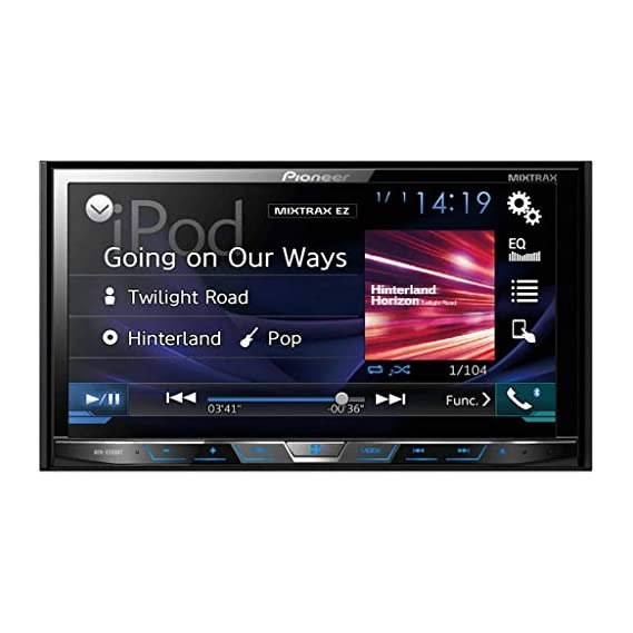 Pioneer AVH-X599BT Black LED On-Dash Navugation and A/V Player