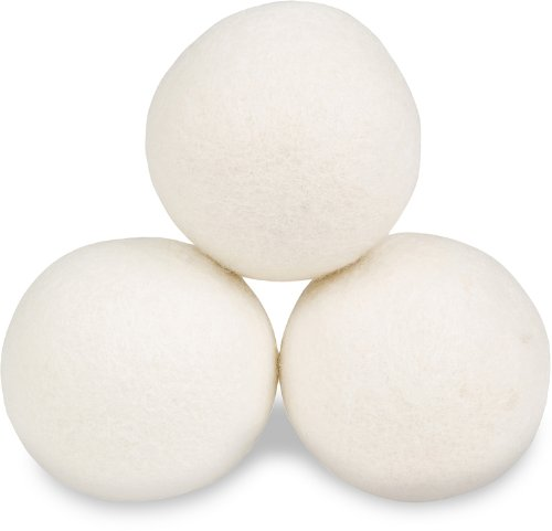 Smart Sheep Reusable Wool Dryer Balls, 3-Pack