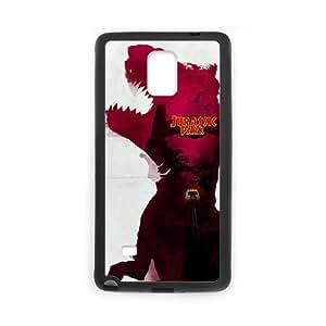Jurassic Park Samsung Galaxy Note 4 Cell Phone Case Black xlb-070261