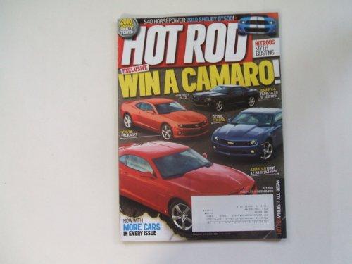 Hot Rod July 2009 (540 HORSEPOWER 2010 SHELBY GT500! - NITROUS MYTH BUSTING) ()
