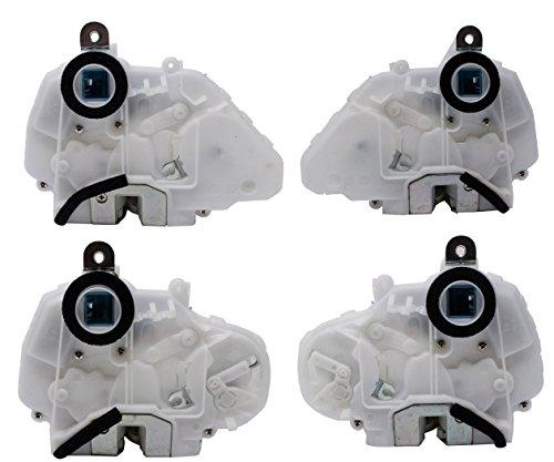 Front Rear Left Right 4pc Door Lock Actuator for 2008 2009 2010 2011 2012 Honda Accord 4-Door ()