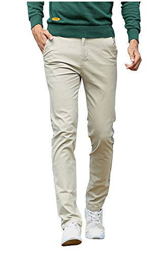 Mintsnow-Mens-Skinny-Flat-Front-Stretch-Chino-Pants-Casual-Cotton-Trousers