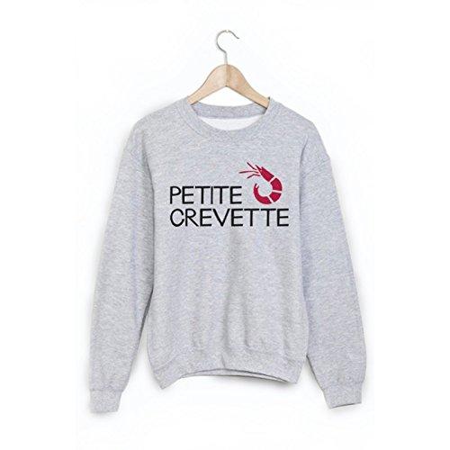 Sweat-Shirt Citation petite crevette ref 1867 - XL