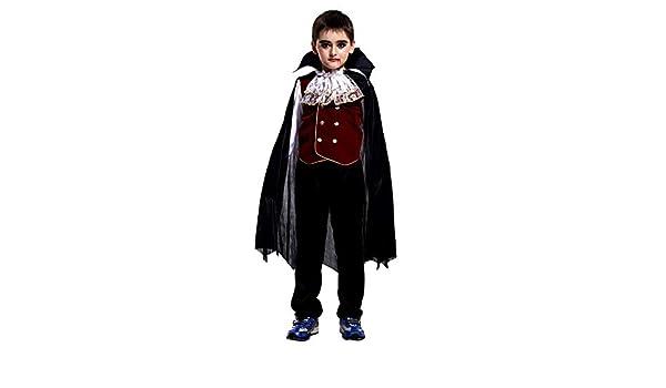 Infantil Disfraz Halloween Niño Vampiro Camiseta de Manga Larga + ...