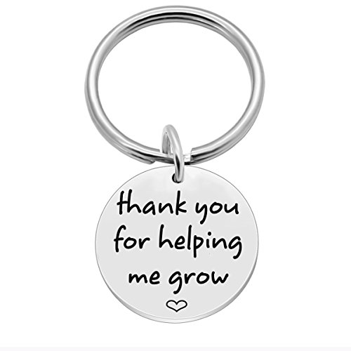 SOSOHOME Thank You for Helping Me Grow - Teacher Appreciation Gifts - Term Begin Term End or Graduation Gift for Teachers -