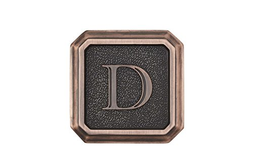 Architectural Mailboxes 3650ORB-D Aluminum Oil Rubbed Bronze Monogram - Letter''D'' by ARCHITECTURAL MAILBOXES