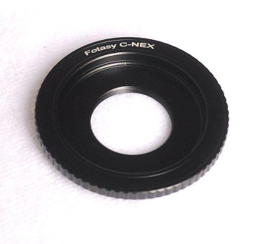 Fotasy NAC Bolex 16mm Cine Movie Lens to Sony NEX E-Mount Camera Mount Adapter
